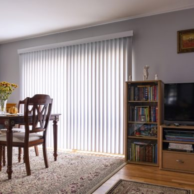 Types of vertical blinds
