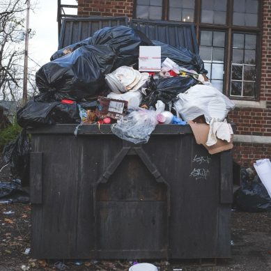 How improper rubbish removal effects the environment