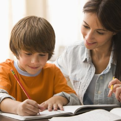 Should parents help their child with homework?